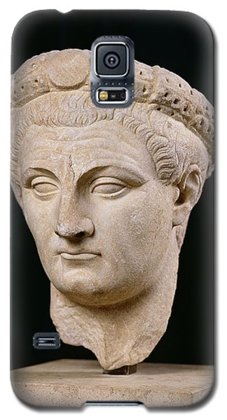 Sculptures Galaxy S5 Cases - Bust of Emperor Claudius Galaxy S5 Case by Anonymous