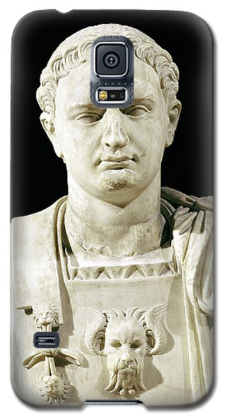 Sculptures Galaxy S5 Cases - Bust of Emperor Domitian Galaxy S5 Case by Anonymous