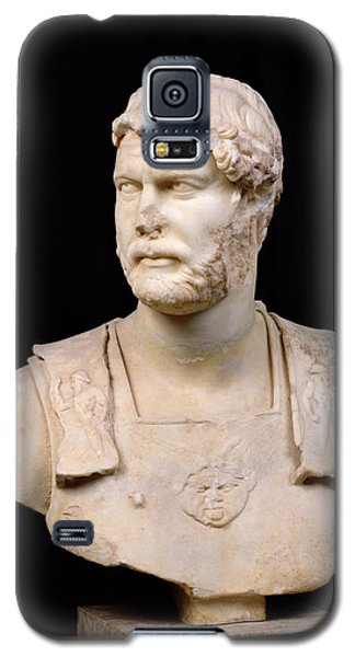 Sculptures Galaxy S5 Cases - Bust of Emperor Hadrian Galaxy S5 Case by Anonymous
