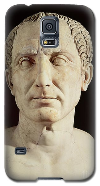 Sculptures Galaxy S5 Cases - Bust of Julius Caesar Galaxy S5 Case by Anonymous