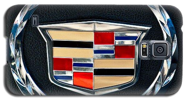 Cadillac Emblem Galaxy S5 Case by Jill Reger