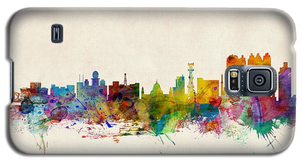 Recently Sold -  - Buy Galaxy S5 Cases - Calcutta India Skyline Galaxy S5 Case by Michael Tompsett