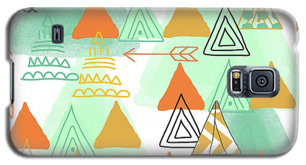 Camping Galaxy S5 Case by Linda Woods