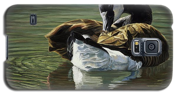Canadian Goose Galaxy S5 Case by Lucie Bilodeau