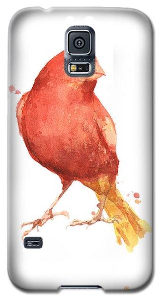 Canary Bird Galaxy S5 Case by Alison Fennell