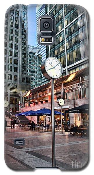 Canary Wharf Twilight Galaxy S5 Case by Jasna Buncic