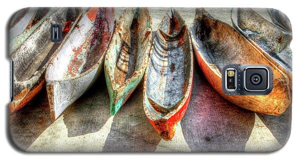 Buy Galaxy S5 Cases - Canoes Galaxy S5 Case by Debra and Dave Vanderlaan