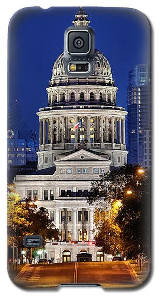 Capitol Of Texas Galaxy S5 Case by Silvio Ligutti