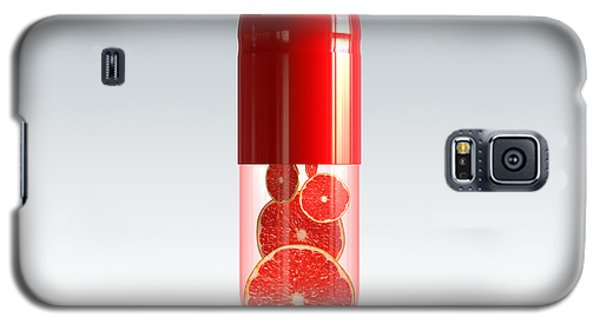 Capsule With Citrus Fruit Galaxy S5 Case by Johan Swanepoel
