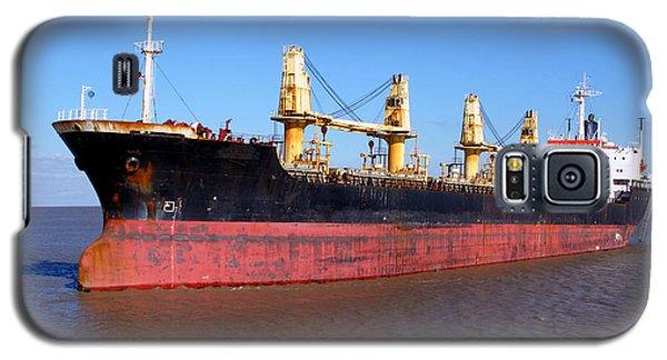 Cargo Ship Galaxy S5 Case by Olivier Le Queinec