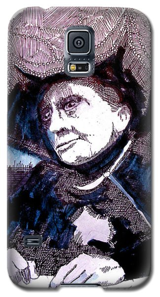 Carnak Tribute To Johnny Carson Galaxy S5 Case by Seth Weaver
