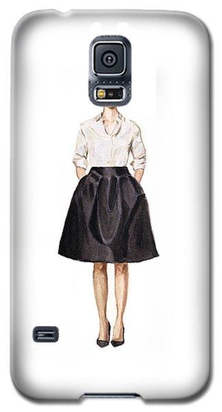 Carolina Herrera Classic Look Galaxy S5 Case by Jazmin Angeles