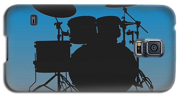 Carolina Panthers Drum Set Galaxy S5 Case by Joe Hamilton