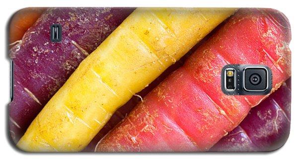 Carrot Rainbow Galaxy S5 Case by Heidi Smith