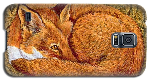 Cat Napping Galaxy S5 Case by Ditz