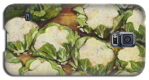 Cauliflower March Galaxy S5 Case by Jen Norton