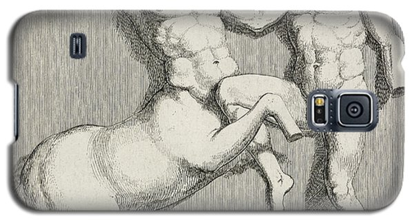 Centaur And Man Galaxy S5 Case by British Library