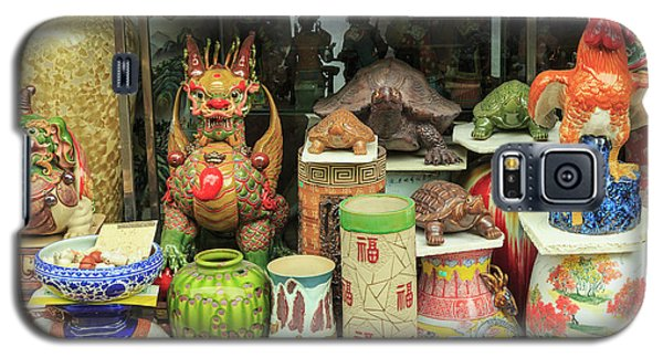 Ceramics At Storefront Near Nanfeng Galaxy S5 Case by Stuart Westmorland