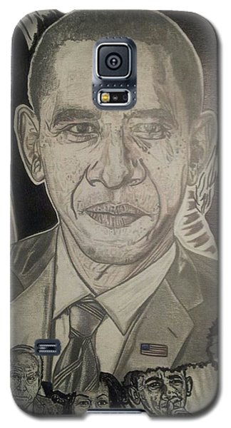 Change Yes We Can Galaxy S5 Case by Demetrius Washington
