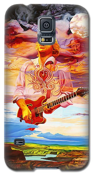 Channeling The Cosmic Goo At The Gorge Galaxy S5 Case by Joshua Morton