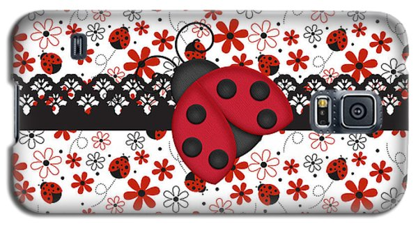 Charming Ladybugs Galaxy S5 Case by Debra  Miller