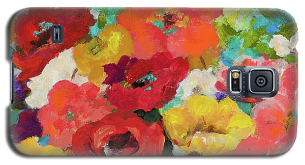 Cheerful Flowers II Galaxy S5 Case by Patricia Pinto