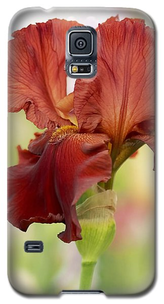 Chelsea Iris Galaxy S5 Case by Rona Black