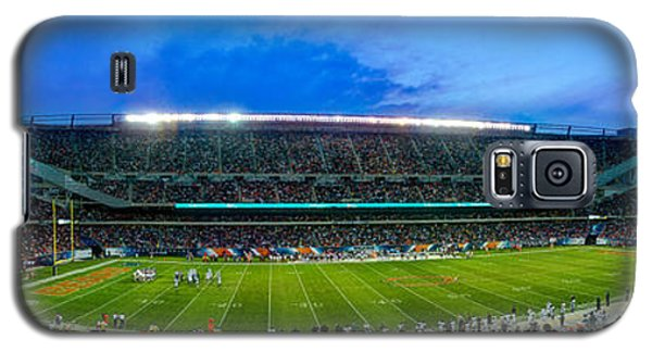 Chicago Bears At Soldier Field Galaxy S5 Case by Steve Gadomski