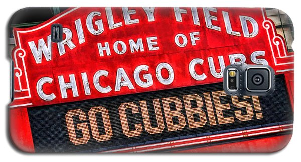 Chicago Cubs Wrigley Field Galaxy S5 Case by Christopher Arndt