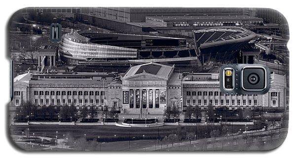 Chicago Icons Bw Galaxy S5 Case by Steve Gadomski