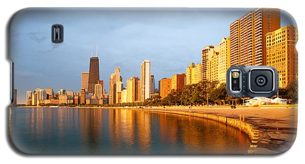 Chicago Skyline Galaxy S5 Case by Sebastian Musial