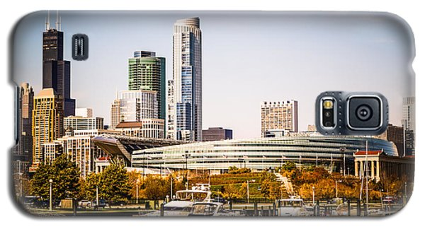 Chicago Skyline With Soldier Field Galaxy S5 Case by Paul Velgos