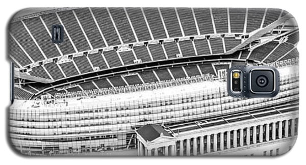 Chicago Soldier Field Aerial Panorama Photo Galaxy S5 Case by Paul Velgos