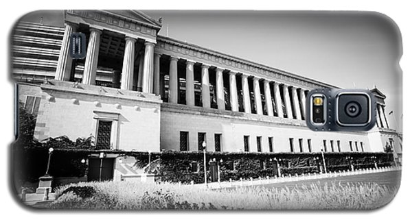 Chicago Solider Field Black And White Picture Galaxy S5 Case by Paul Velgos