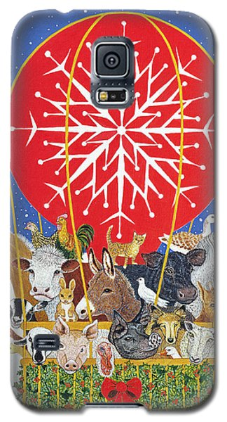 Christmas Journey Oil On Canvas Galaxy S5 Case by Pat Scott
