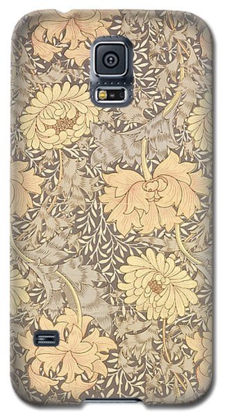 Tapestries - Textiles Galaxy S5 Cases - Chrysanthemum Galaxy S5 Case by William Morris