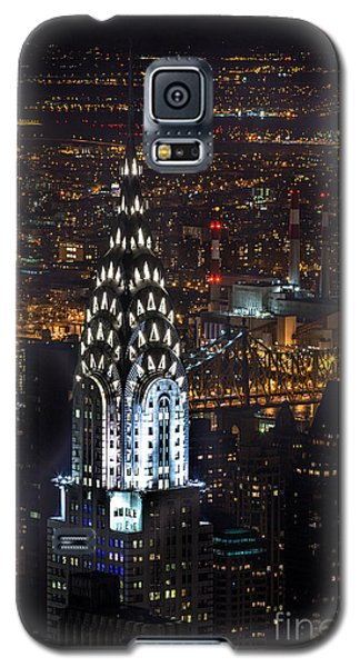 Chrysler Buiilding Galaxy S5 Case by John Farnan