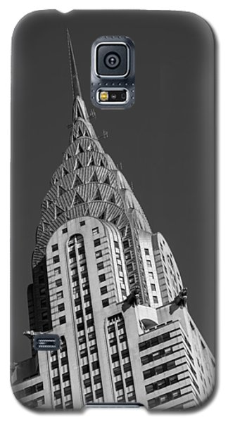 Chrysler Building Bw Galaxy S5 Case by Susan Candelario
