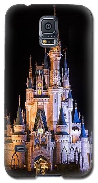 Cinderella's Castle In Magic Kingdom Galaxy S5 Case by Adam Romanowicz