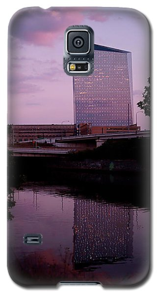 Cira Centre Galaxy S5 Case by Rona Black