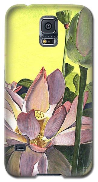Plant Galaxy S5 Cases - Citron Lotus 2 Galaxy S5 Case by Debbie DeWitt