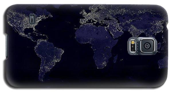 City Lights Galaxy S5 Case by Sebastian Musial