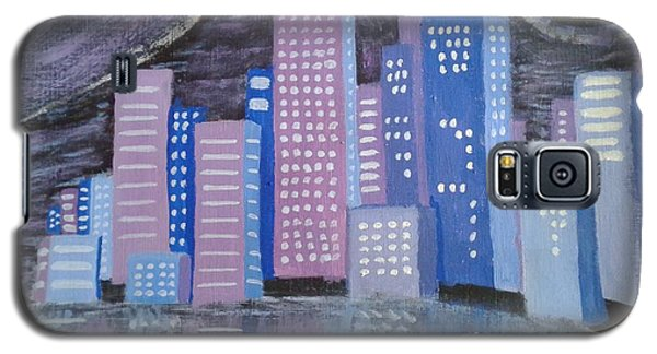 City Reflections Galaxy S5 Case by Erica  Darknell