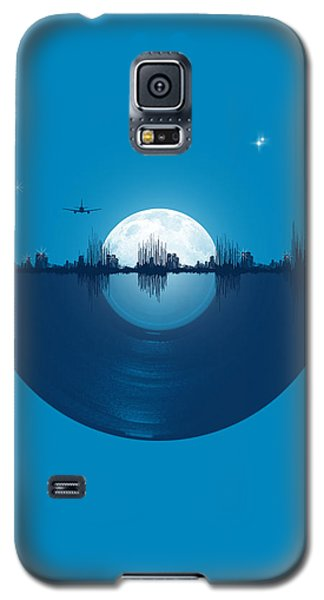 Buy Galaxy S5 Cases - City tunes Galaxy S5 Case by Neelanjana  Bandyopadhyay