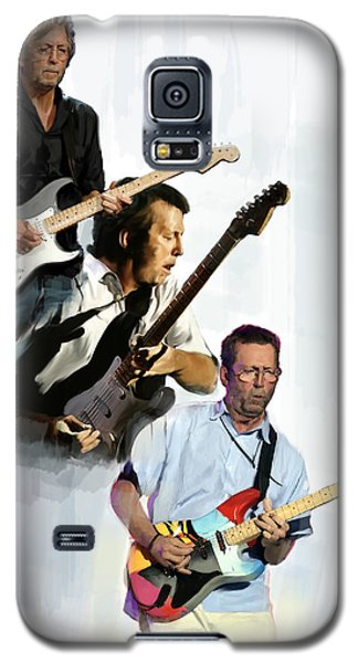 Clapton Eric Clapton Galaxy S5 Case by Iconic Images Art Gallery David Pucciarelli