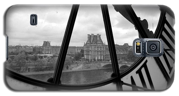 Clock At Musee D'orsay Galaxy S5 Case by Chevy Fleet
