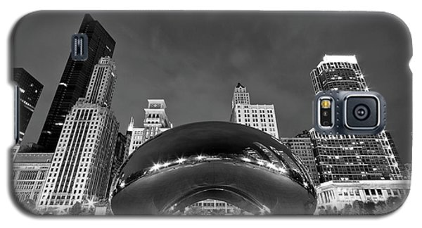 Cloud Gate And Skyline Galaxy S5 Case by Adam Romanowicz