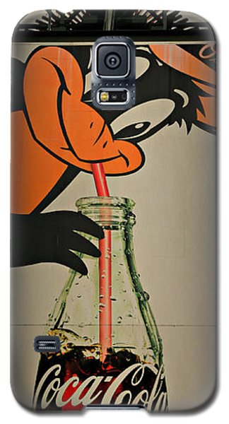 Coca Cola Orioles Sign Galaxy S5 Case by Stephen Stookey