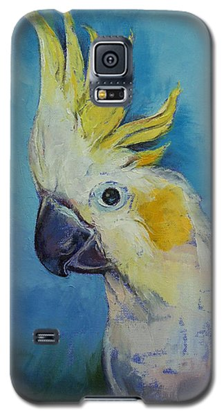 Cockatoo Galaxy S5 Case by Michael Creese