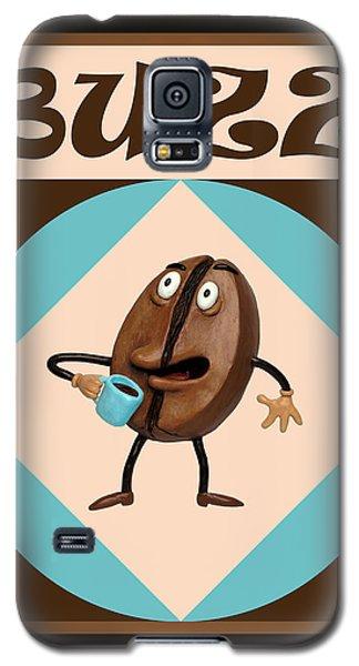 Sculptures Galaxy S5 Cases - Coffee Buzz Galaxy S5 Case by Amy Vangsgard